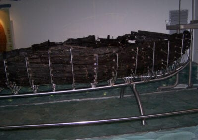 Archeological Jesus-era Boat