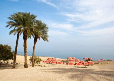 Dead Sea Red Tents