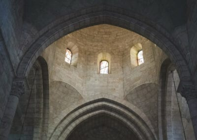 Interior Church Arches, Jerusalem
