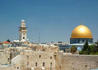 Jerusalem Dome and Wall
