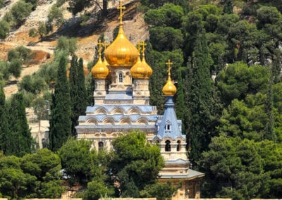 Mary Magdalene Church on the Mount of Olives, Jerusalem