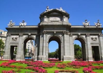 Puerta de Alcala Flower Gardens, Madrid