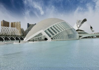 Modern Buildings in Valencia