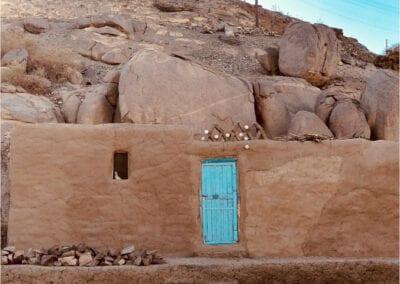 Blue Door, Aswan