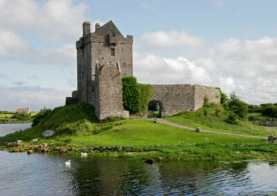 Kinvara Bay, Galway - Dunguaire Castle
