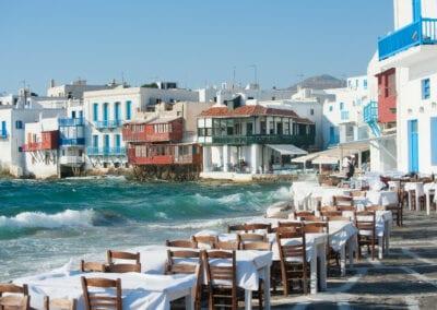 Mykonos Ocean Cafes