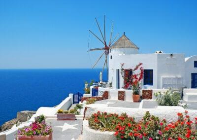 Santorini Oia Windmill